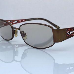 Nine West Ladies Eyeglasses Frame Metal NW447 01R9